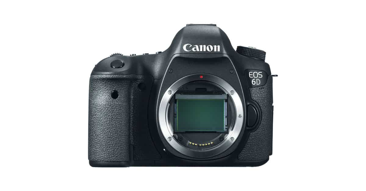 Deal! Save $300 on the Canon EOS 6D!