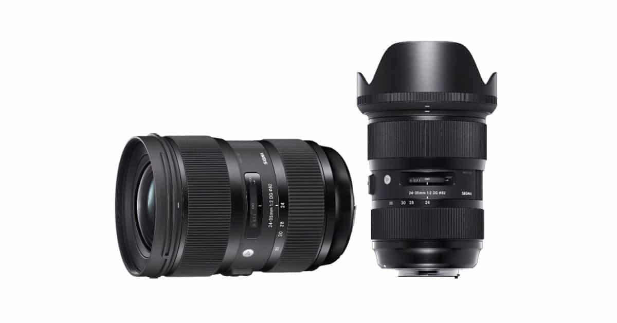 Just Announced: Sigma 24-35 f/2 DG HSM Art Lens