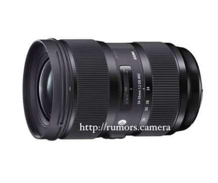 Sigma Will Launch a 24-35mm f/2 DG HSM ART Lens!