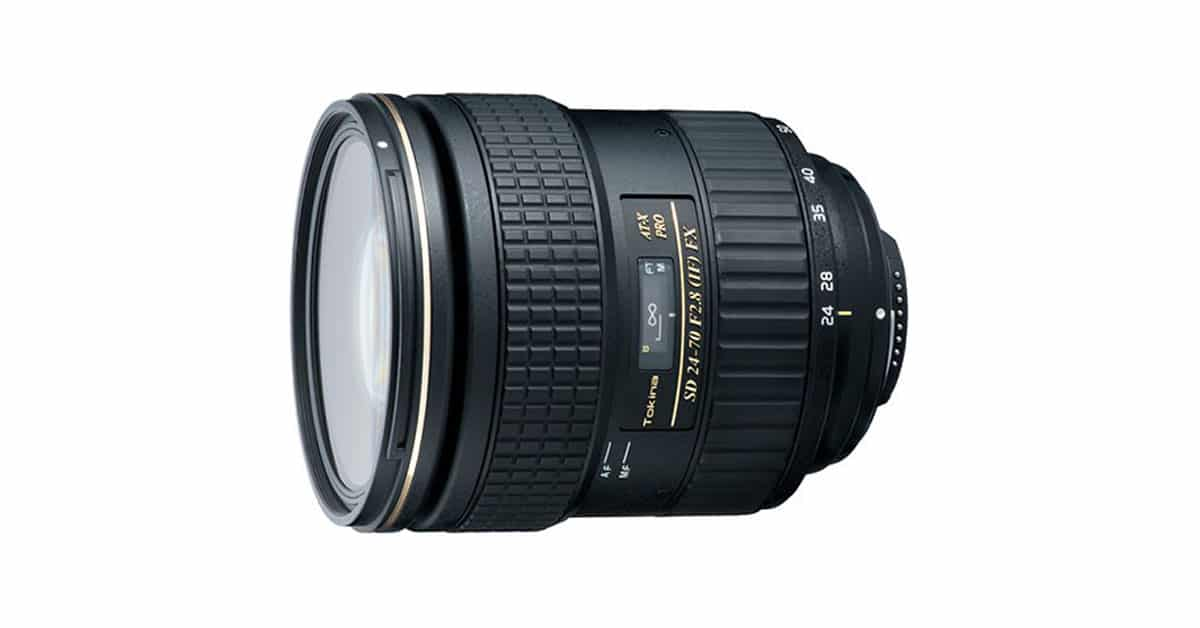 Just Announced: Tokina AT-X 24-70mm f/2.8 PRO FX
