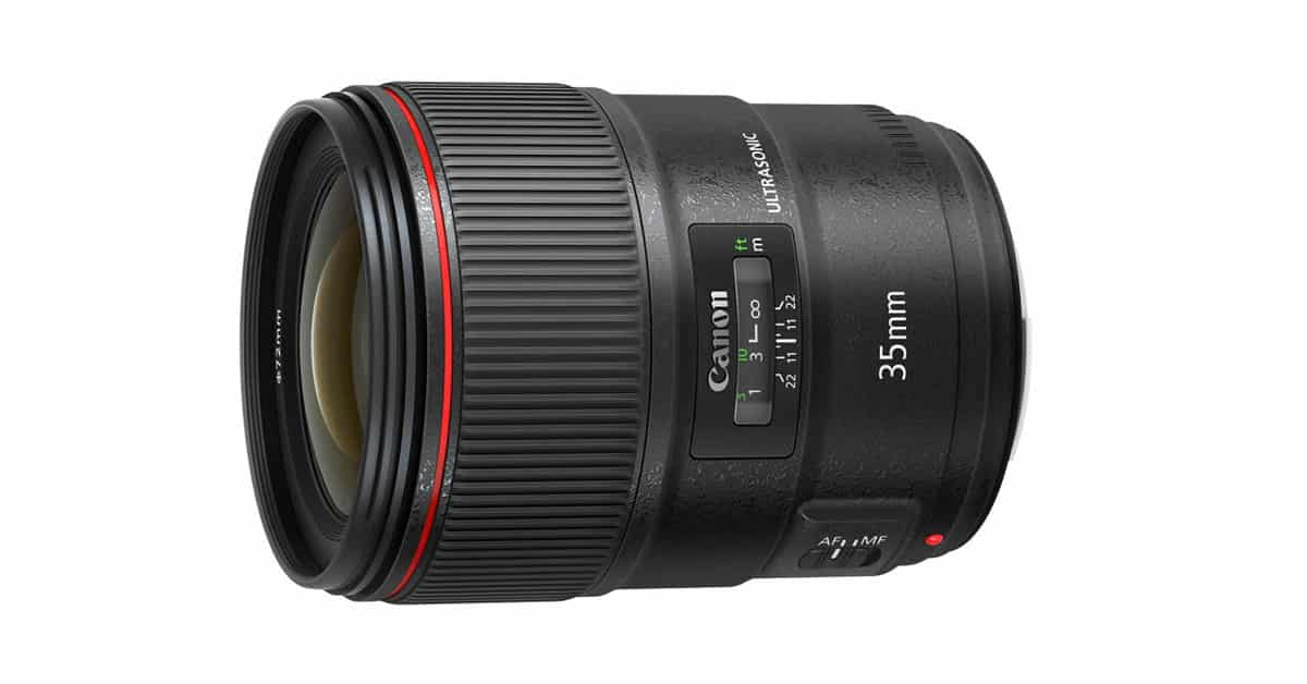 Just Announced: New Canon 35mm f/1.4 L II