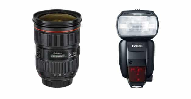 Deal: Canon Offering Instant Cash-Back on Lenses and Speedlites.