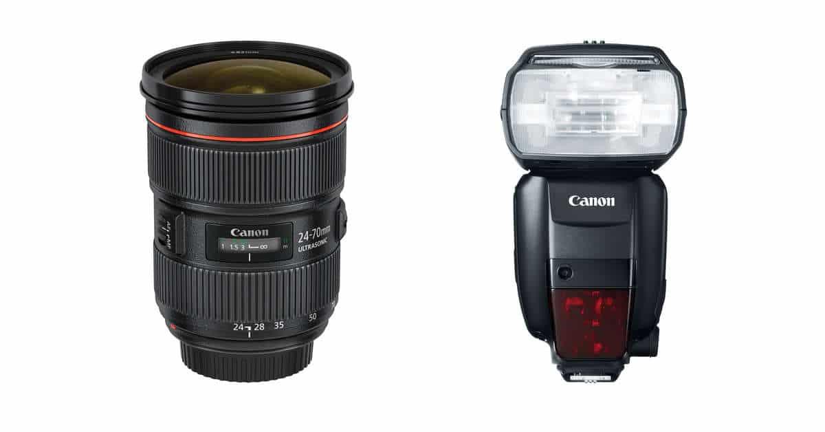 Deal: Canon Offering Instant Cash-Back on Lenses and Speedlites.