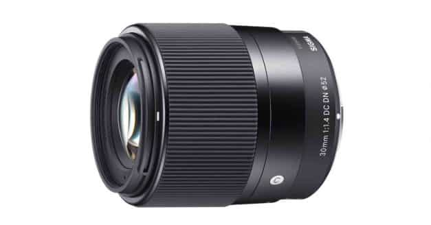 Just Announced: Sigma 30mm F/1.4 DC DN Contemporary Lens
