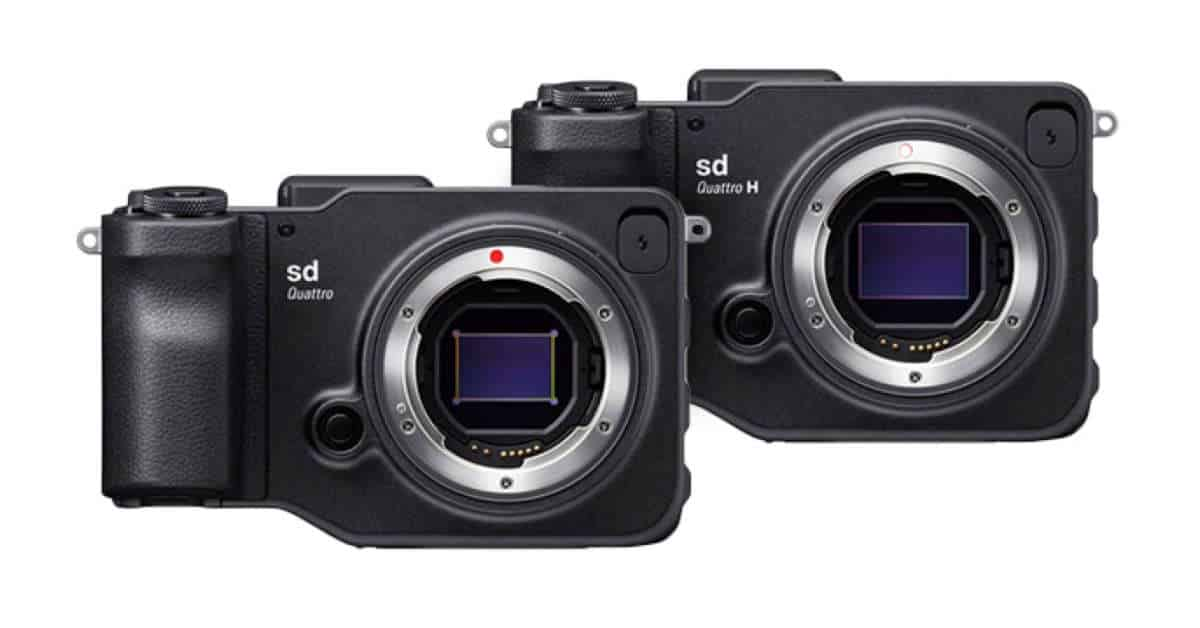 Just Announced: Sigma Reveals Two Sd Quattro Mirrorless Cameras
