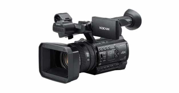 Just Announced: Sony Unveils PXW-Z150 4K Camcorder