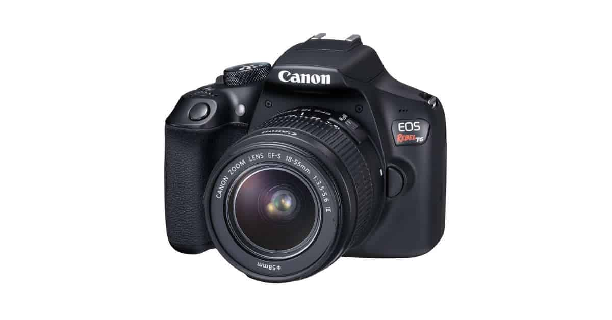 Canon EOS Rebel T7 (1400D) Passes Certification
