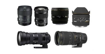 Deal: Save up to $500 on Sigma Lenses