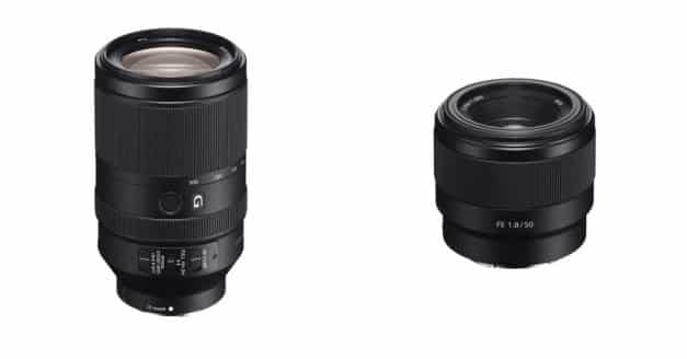 Sony Announces Two New FE Full-Frame Lenses