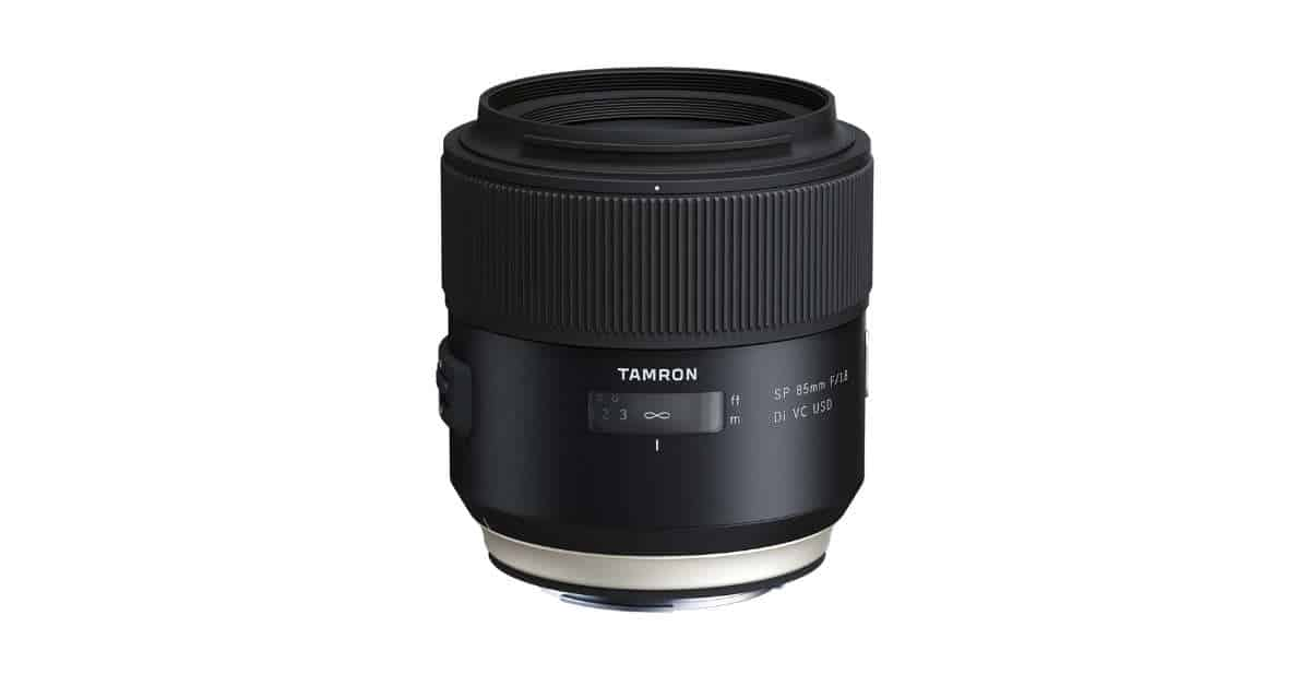 Tamron SP 85MM F/1.8 VC Available for Pre-Order.
