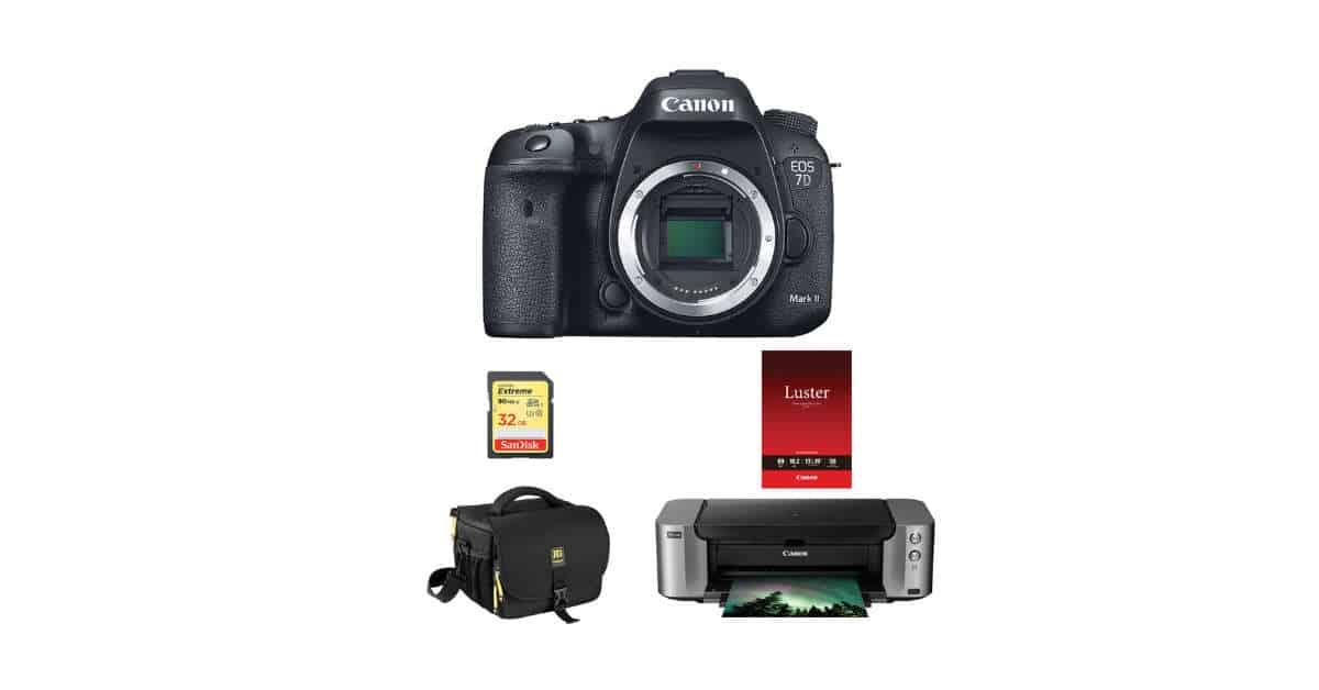 Deal: Save Up-To $1135 On 7D II Printer Bundle!!
