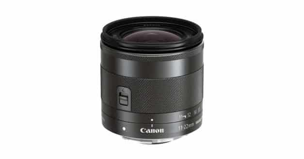 Patent: Canon EF-M 9-18mm F/3.5-4.5 Lens for Mirrorless Cameras