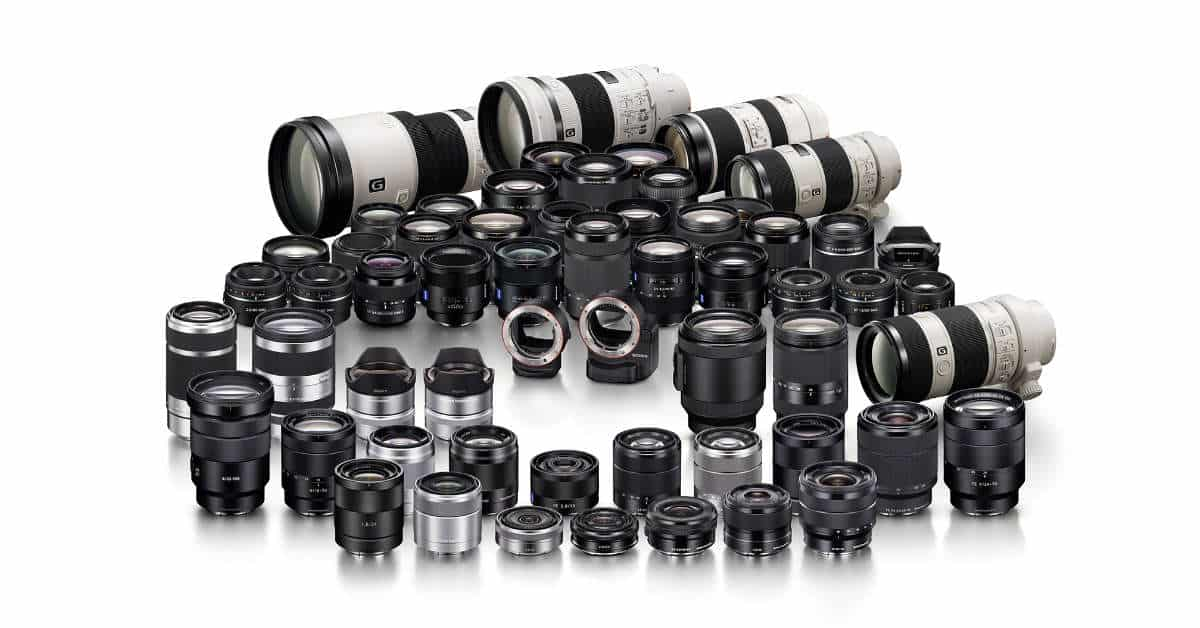 Sony Lens Rebates! Save up-to $200!