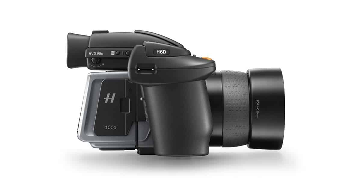 Hasselblad Launches New H6D 100mp Medium Format Camera