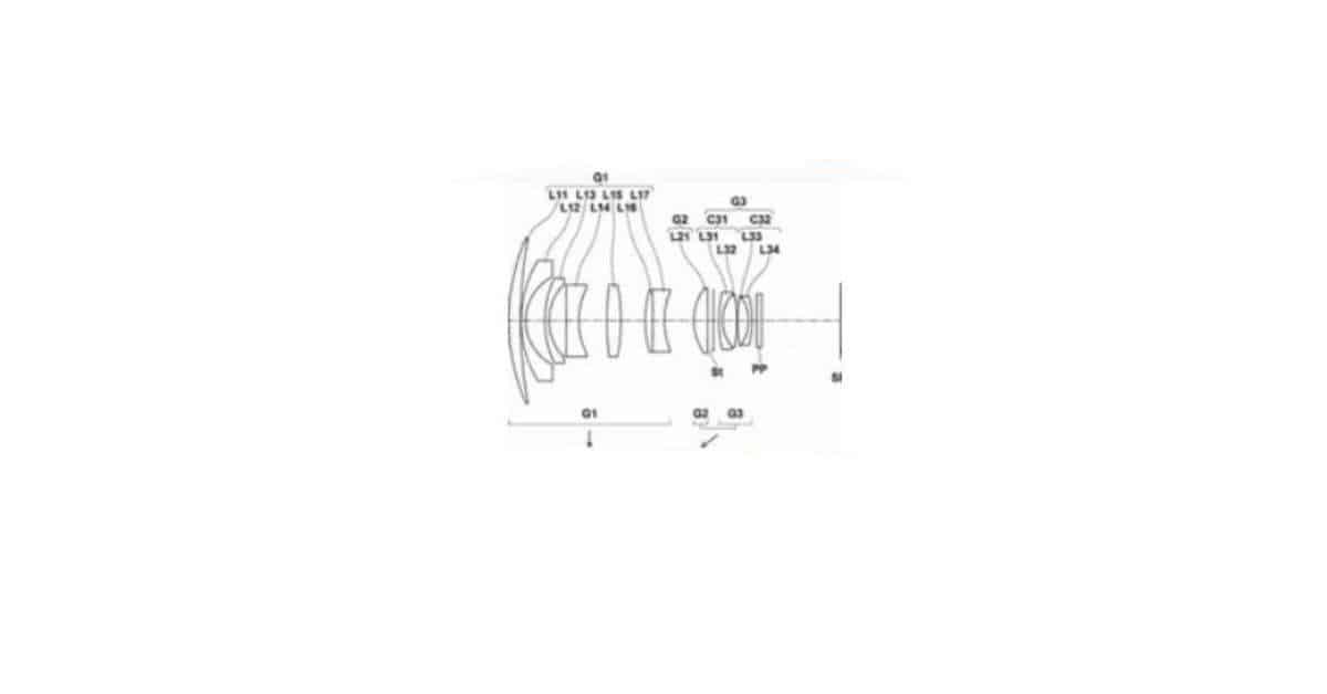 Fuji Patents 20mm F/1.8 Lens