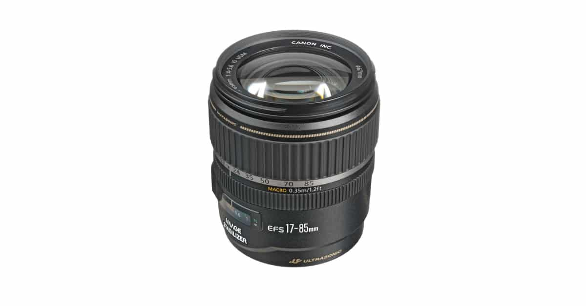 Save $300 on the Canon EF-S 17-85mm F/4-5.6 IS USM Lens
