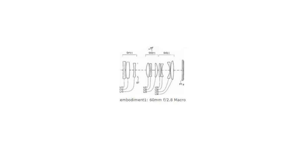 Konica Minolta Patents 60mm F/2.8 Macro Lens