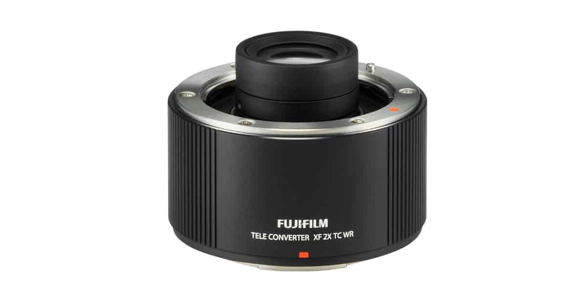 Fuji Announces XF 2x TC WR Teleconverter and Fujifilm LH-XF23 Lens Hood