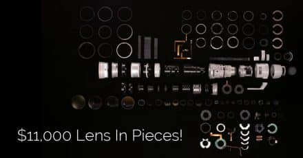 This Is What an $11,000 Lens Looks Like in Pieces