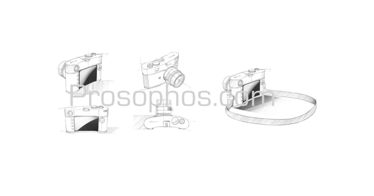 Voightlander M-Mount Camera Concept Sketches