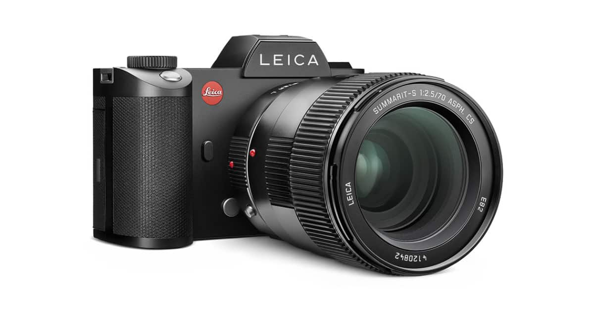 Leica Announces S Adapter L and AA-SCL4 Audio Adapter for Leica SL Cameras