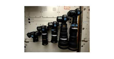 Five Nikon D4's on the International Space Station!