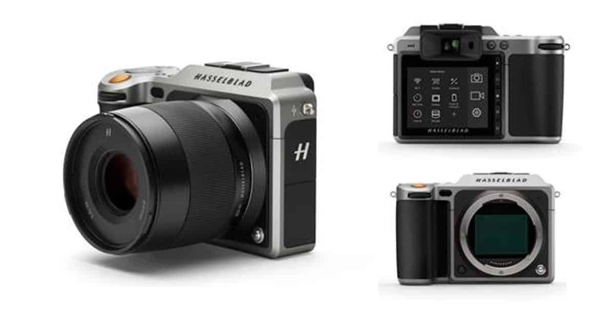 Hasselblad X1D Mirrorless Images Leak!!!
