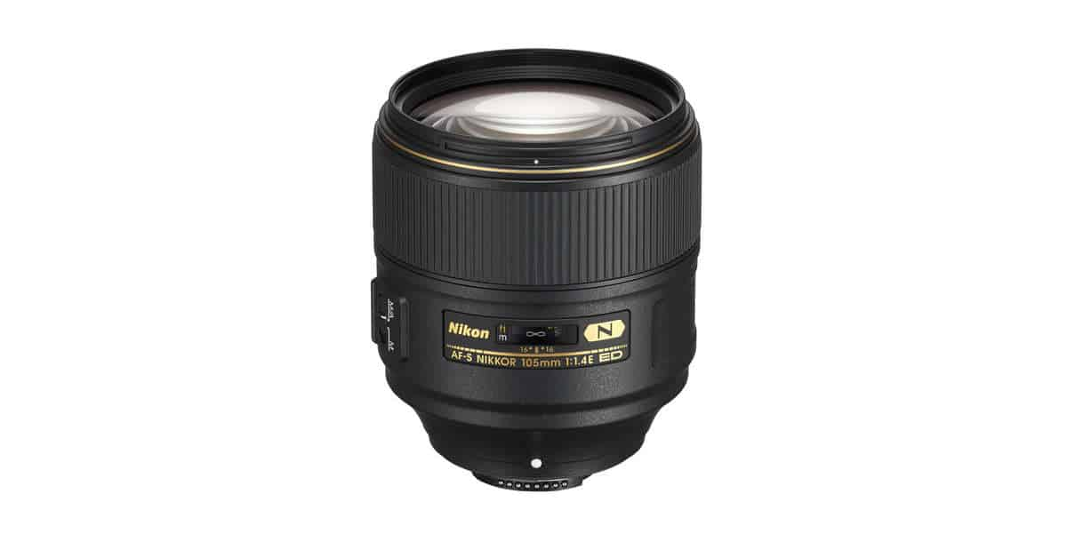 Nikon Announces the Nikon AF-S Nikkor 105mm f/1.4E ED lens