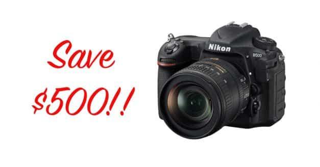 New Nikon Rebates! Save $500 on the Nikon D500 and 16-80mm Lens Kit!