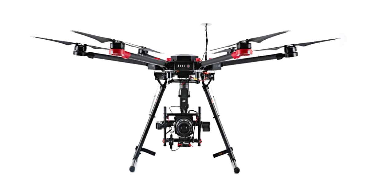 Hasselblad and DJI Announce A5D equipped M600 Drone