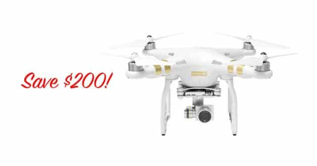 Deal! Get the DJI Phantom 3 4K Drone for Just $589!
