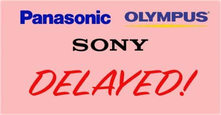Latest Kumamoto Earthquake Delay Rumors From Sony, Olympus and Panasonic