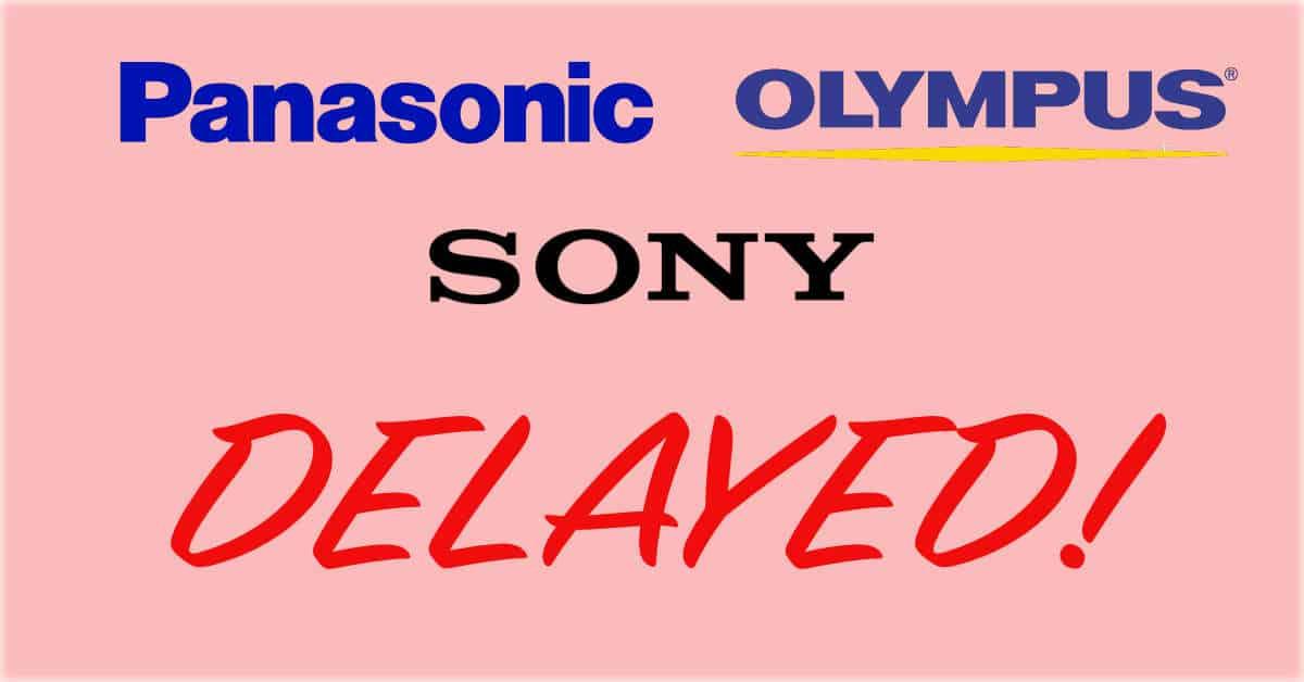 Latest Kumamoto Earthquake Delay Rumors From Sony, Olympus and Panasonic