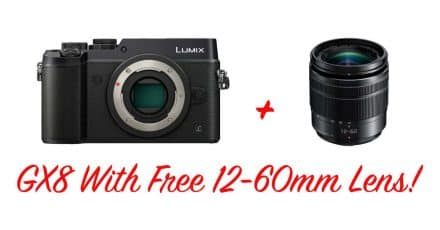 Panasonic Lumix DMC-GX8, Now With Free 12-60mm Lens!