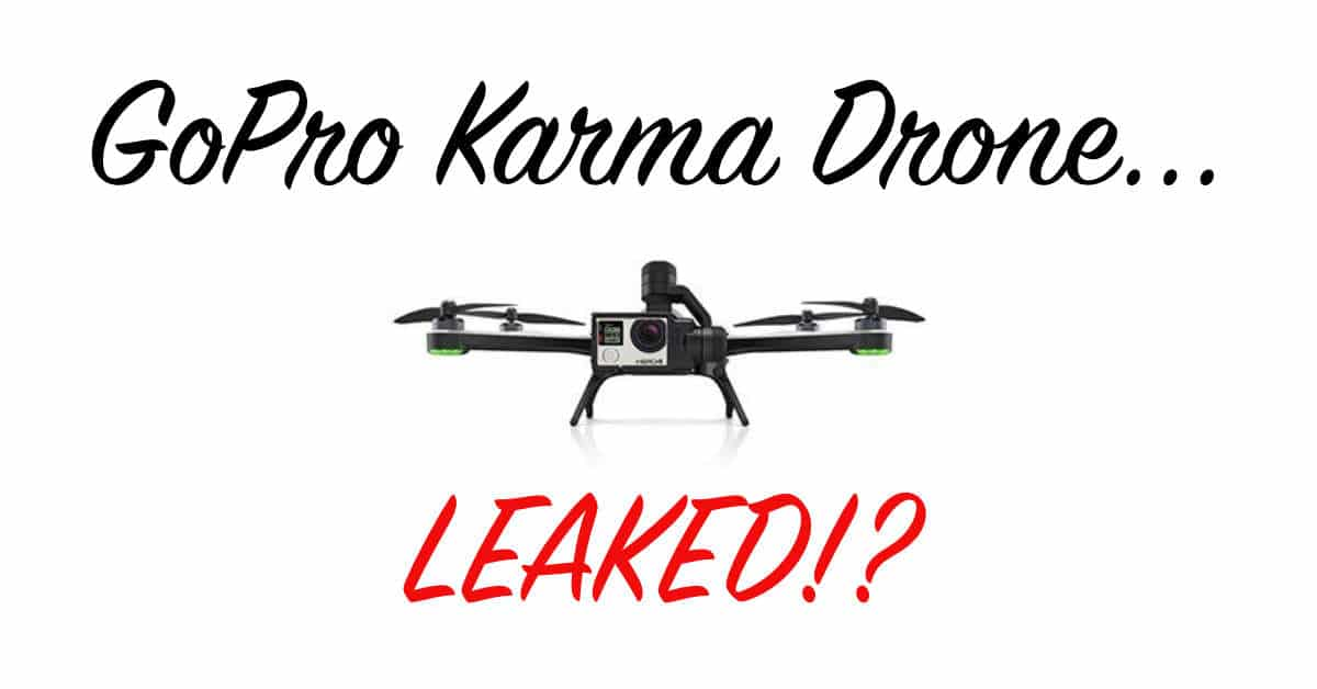 Is This The Go-Pro Karma Drone?