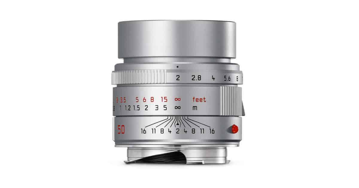 Leica Announce Silver APO-Summicron-M 50mm F/2 ASPH Lens