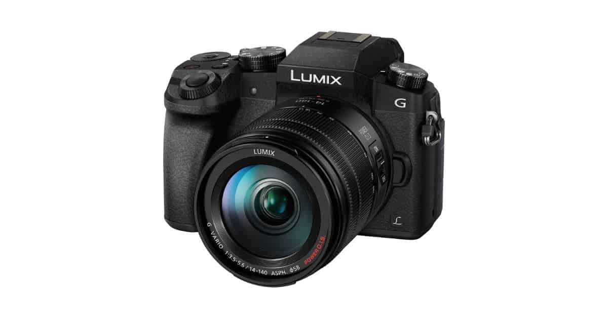 Deal: Panasonic Lumix DMC- G7 with 14-140mm and 25mm Kit, $350 off Plus $100 Gift Card!
