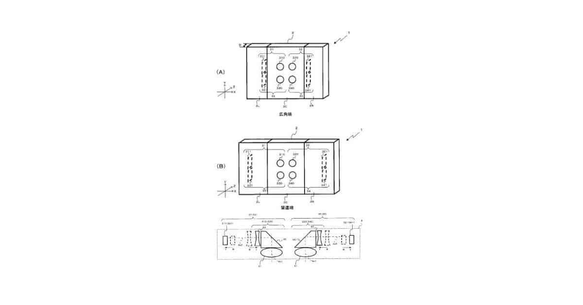 Nikon Patent Multi-Lens Camera System