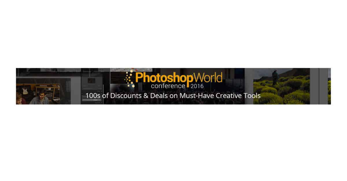 Save Hundreds in B&H's Photoshop World Conference Specials!
