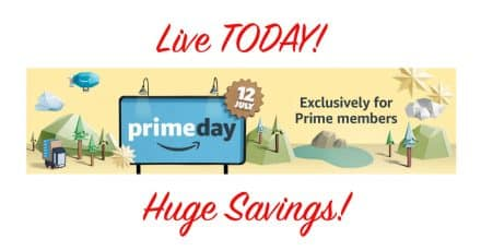 Amazon Prime Day Live Today!