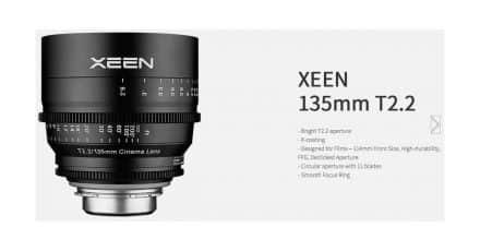 Samyang Announces 135mm T/2.2 Xeen Cinema Lens
