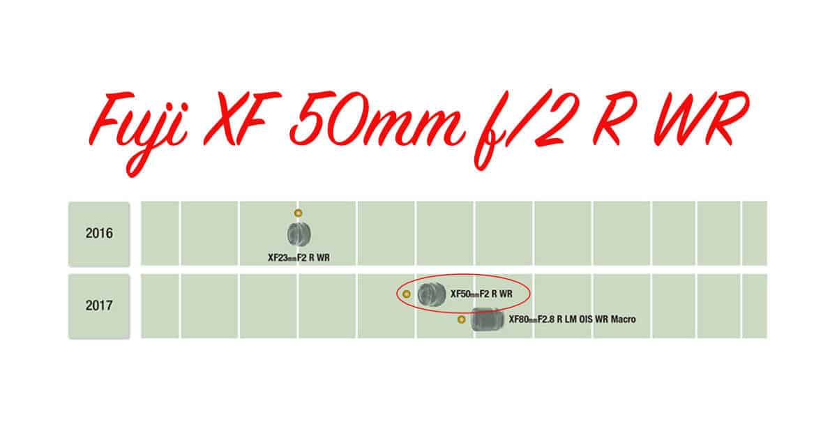 Fuji XF50mm F/2 R WR and X-A10 Coming Next Month