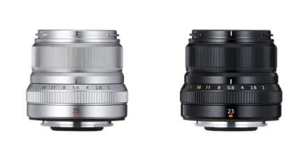 Fuji Announce the Fujifilm XF 23mm F/2 R WR