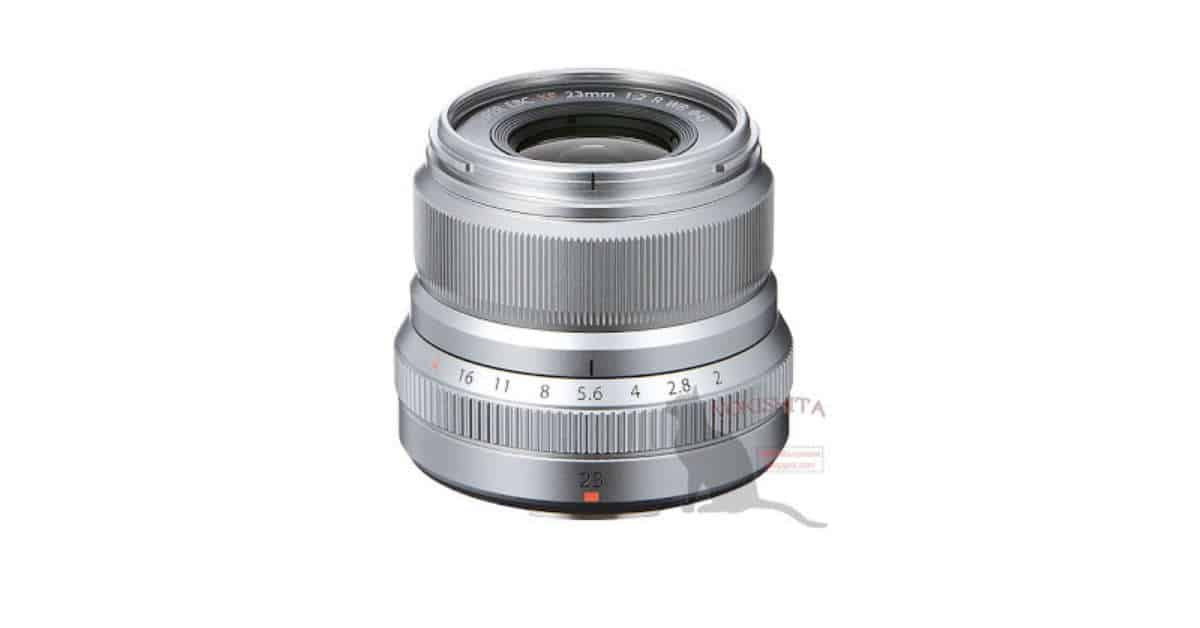 Fuji XF 23mm F/2 R WR Full spec Leak Plus New Pictures
