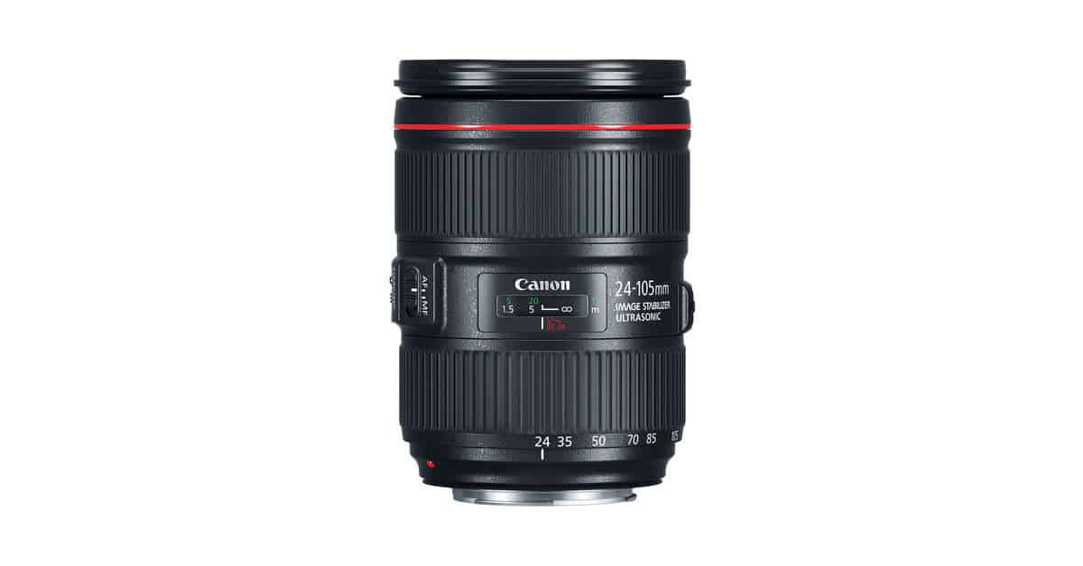 Canon Announces the EF 24-105mm f/4L IS II USM
