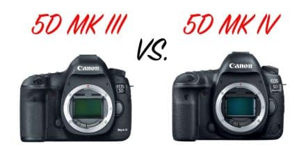 Canon 5D Mark III Vs. 5D Mark IV