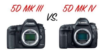 Canon 5D Mark III Vs. 5D Mark IV