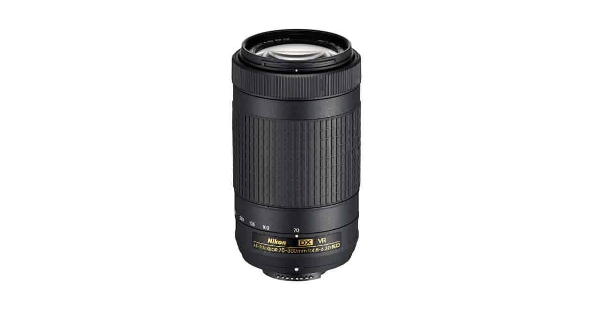 Nikon Announces new  AF-P DX Nikkor 70-300mm f/4.5-6.3G ED Lenses