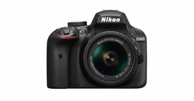 Nikon Anounces the Nikon D3400 DSLR