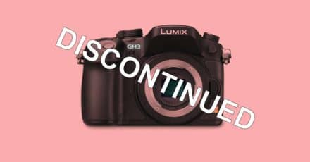 Panasonic Lumix DMC-GH3 Discontinued